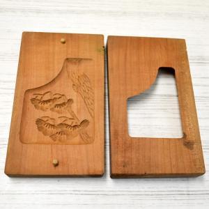菓子木型 落雁 和三盆 松 1602-804|passage-bm