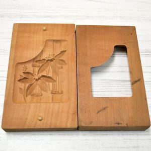 菓子木型 落雁 和三盆 竹 1602-816|passage-bm