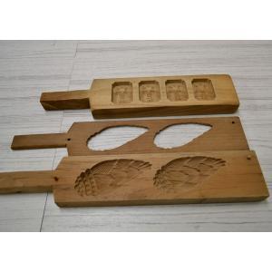 菓子木型 落雁 和三盆 羽子板タイプ 竹の子 他 1603-856|passage-bm