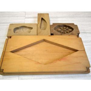 菓子型 落雁 和三盆 大菱形 竹の子 コブ 蓮根 1605-995|passage-bm