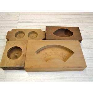 菓子型 落雁 和三盆 上棟祝 鶴 リンゴ スシ 1605-999|passage-bm