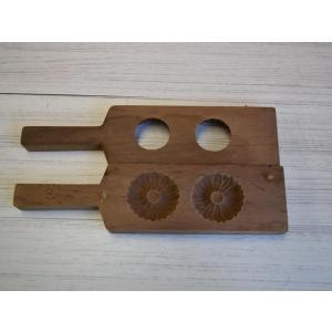 菓子型 落雁 和三盆 羽子板タイプ 鶴亀寿三連 祝 ウド 菊 4個セット 1702-629 passage-bm 06
