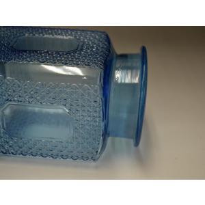 カッティングガラス 色ガラス 広口瓶 キャンディポット レトロ アンティーク 1801-501|passage-bm|11