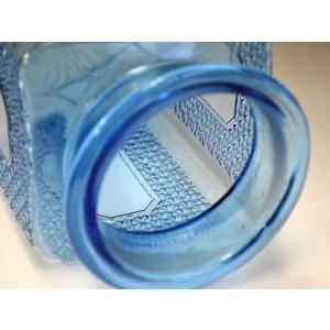 カッティングガラス 色ガラス 広口瓶 キャンディポット レトロ アンティーク 1801-501|passage-bm|12
