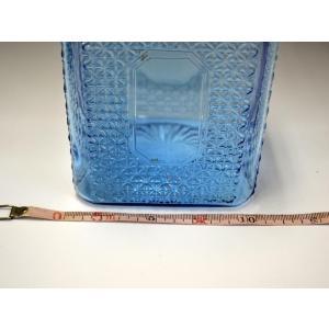 カッティングガラス 色ガラス 広口瓶 キャンディポット レトロ アンティーク 1801-501|passage-bm|14