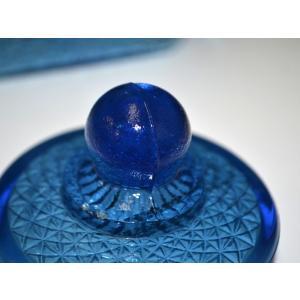 カッティングガラス 色ガラス 広口瓶 キャンディポット レトロ アンティーク 1801-501|passage-bm|15