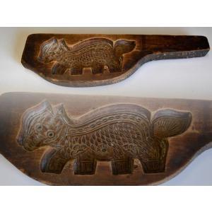 菓子型 落雁 和三盆 猫 レトロ 1802-539 passage-bm