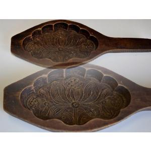 菓子型 落雁 和三盆 花 レトロ 1802-541|passage-bm