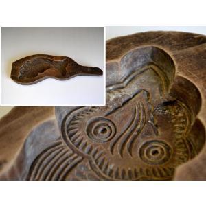 菓子型 落雁 和三盆 魚 レトロ 1802-543|passage-bm