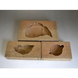 菓子型 落雁 和三盆 亀 鶴 鯛 3個セット 1809-097|passage-bm
