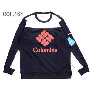 Columbia コロンビア クルーネック スウェット コロンビアロッジカラーブロック クルー EE0260 passage-store