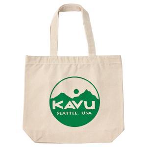 KAVU カブー サークルロゴ トートバッグ|passage-store