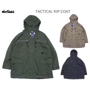WILD THINGS ワイルドシングス TACTICAL RIP COAT タクティカル リップ コート WT21127AD|passage-store