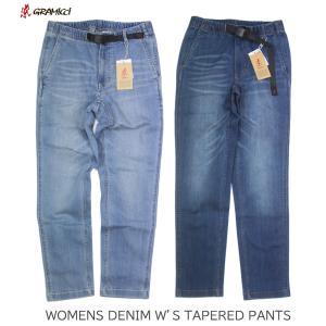 GRAMICCI グラミチ WOMEN'S DENIM W'S TAPERED PANTS ウィメンズ デニム テーパードパンツ 0157-DEJ|passage-store