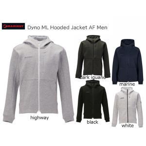 MAMMUT マムート Dyno ML Hooded Jacket AF Men コットンポリ ジップパーカー 1014-02920 passage-store