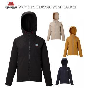 MOUNTAIN EQUIPMENT マウンテンイクイップメント WOMEN'S CLASSIC WIND JACKET  ウィメンズ クラシック ウィンド ジャケット 424109|passage-store