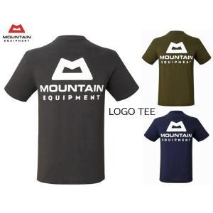 MOUNTAIN EQUIPMENT マウンテンイクイップメント LOGO TEE 半袖ロゴ Tシャツ 425734|passage-store