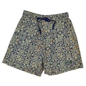 MANASTASH マナスタッシュ JAIPUR SHORT PANTS 総柄リラックス ショートパンツ 7116042 passage-store