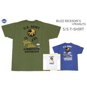 BUZZ RICKSON'S バズリクソンズ BUZZ RICKSON'S ×PEANUTS 半袖プリントTシャツ S/S T-SHIRT BR78422|passage-store