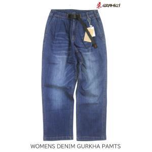GRAMMICI グラミチ WOMEN'S DENIM GURKHA PANTS ウィメンズ グルカ デニムパンツ GLP-20F006|passage-store