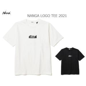 NANGA ナンガ NANGA LOGO TEE 2021 ナンガロゴTシャツ|passage-store