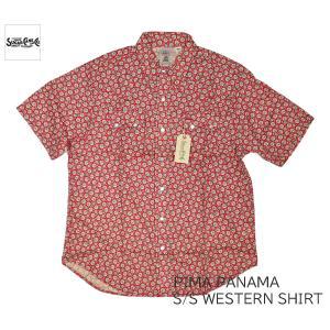 SUGAR CANE シュガーケーン ボイルパナマ 半袖ワークシャツ PIMA PANAMA S/S WESTERN SHIRT SC38462|passage-store