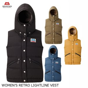 MOUNTAIN EQUIPMENT マウンテンイクイップメント WOMEN'S RETRO LIGHTLINE VEST ウィメンズ レトロ ライトライン ベスト 422325|passage-store
