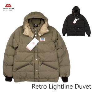 MOUNTAIN EQUIPMENT マウンテンイクイップメント RETRO LIGHTLINE DUVET レトロ ライトライン デュベ 423199 レトロダウン|passage-store