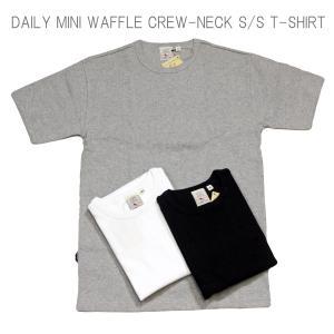 AVIREX アヴィレックス DAILY MINI WAFFLE CREW NECK S/S T-SHIRT デイリー ミニワッフル クルーネック Tシャツ 6143150 passage-store