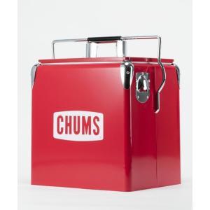 CHUMS チャムス チャムススチールクーラーボックス CH62-1128  アウトドアにもインテリ...