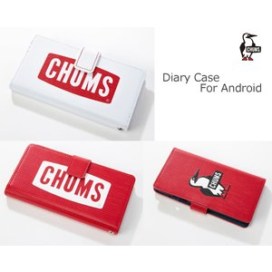 CHUMS チャムス ダイアリーケースフォーアンドロイド スマホ/PC/携帯ケース CH62-1415|passage-store