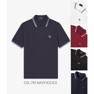 FRED PERRY フレッドペリー TWIN TIPPED FRED PERRY SHIRT 2本ラインポロシャツ M12|passage-store