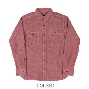 桃太郎ジーンズ MOMOTARO JEANS 5ozシャンブレーワークシャツ MS033 passage-store