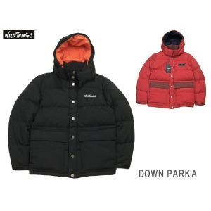 WILD THINGS ワイルドシングス DOWN PARKA ダウンパーカジャケット WT18201N|passage-store