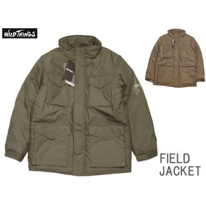 WILD THINGS ワイルドシングス FIELD JACKET フィールドジャケット 中綿プリマロフト WT1910SN|passage-store