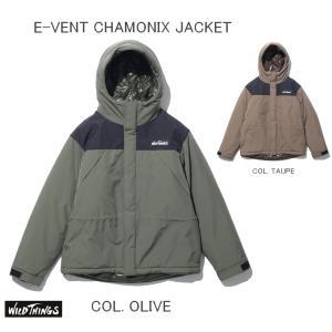 WILD THINGS ワイルドシングス e-VENTシャモニージャケット E-VENT CHAMONIX JACKET WT21102N|passage-store