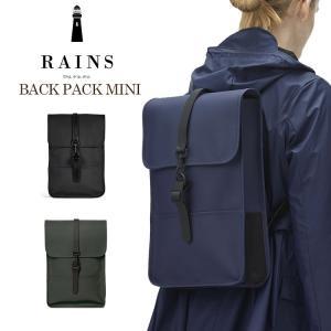 レインコートと同じポリウレタンの防水仕様。スマートなスクエア型のバックパックはオフやデイリーでは勿論...