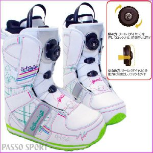ガールスター スノーボード ブーツ GIRLSTAR SNOWBOARD レディース スノーボードブーツ|passo