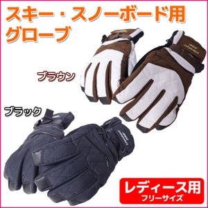 スキー スノーボード グローブ 手袋 レディース 透湿 防水 ムレない 日本