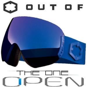 新作 OUT OF スノーゴーグル 18-19 OPEN W9G2002 BLUE / THE ONE