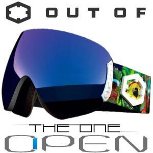 新作 OUT OF スノーゴーグル 18-19 OPEN W9G2010 CHAMELEON / THE
