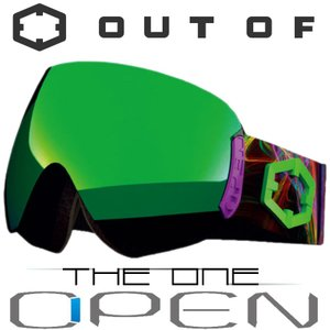 新作 OUT OF スノーゴーグル 18-19 OPEN W9G2013 80S / THE ONE
