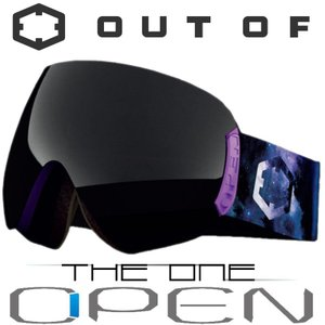 新作 OUT OF スノーゴーグル 18-19 OPEN W9G2014 STARDUST / THE