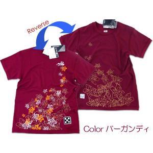 【レビューを書いて送料無料】2面シャツ FIVE POINTS★レディース リバーシブルTシャツ S〜L(FKJ-88012)【送料無料】 passo