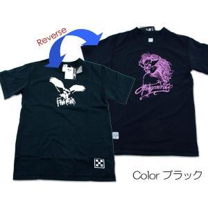 【レビューを書いて送料無料】2面シャツ FIVE POINTS★メンズ リバーシブルTシャツ M〜XL(FKJ-98022)【送料無料】 passo