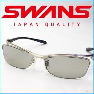 スワンズ (SWANS) スポーツサングラス SWF-502 [MBK]/[MGMR]/[MSIL] メンズ 偏光レンズ uvカット ケース付き passo