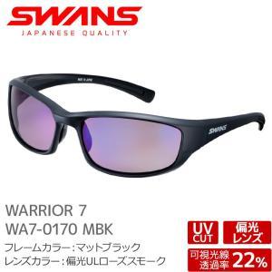 SWANS スワンズ サングラス WA7-0170 MBK WARRIOR マットブラック