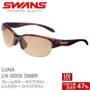SWANS スワンズ サングラス LN-0005 DMBR LUNA