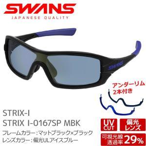SWANS サングラス STRIX I-0167SP MBK