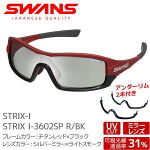 SWANS サングラス STRIX I-3602SP R/BK